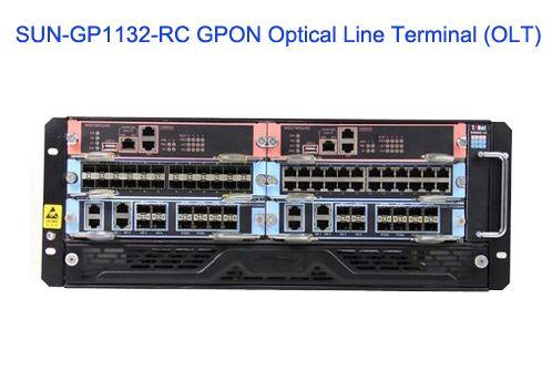 SUN-GP1132-RC Optical Line Terminal (OLT) - GPON Solutions - Sun Telecom-Fiber Optic Solutions Provider