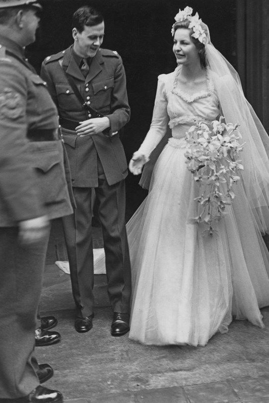 Wedding of The  Duke of Devonshire and The Duchess of Devonshire, 1941