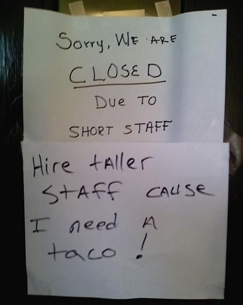 .Laugh, Tacos, Funny Signs, Shorts Staff, Funny Stuff, Humor, Funnysigns, Funnystuff, Giggles
