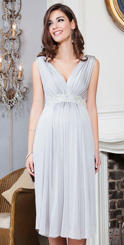 Maternity Dress Short (Silver Screen) - Maternity Wedding Dresses ...