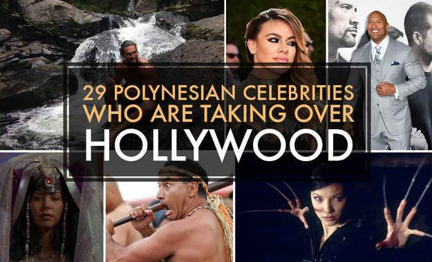 29 Polynesian Celebrities Who Are Taking Over Hollywood