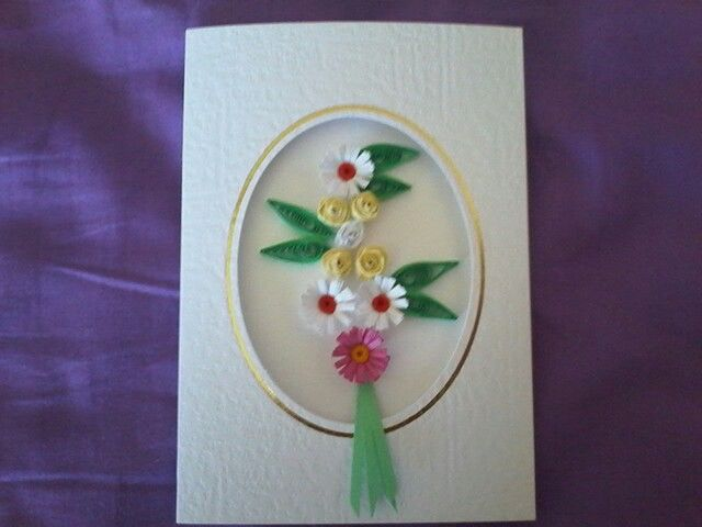 Another card I have made,  I like it.  But do not like the leaves.