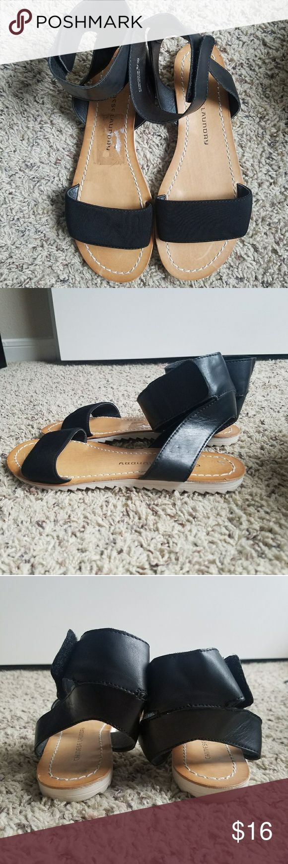 Chinese laundry sandals in really good condition Chinese laundry sandals in really good condition  size 8/39 Chinese Laundry Shoes Sandals