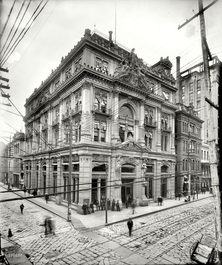 new orleans c. 1900 Well I can't be there physically cuz it's 2013 but if I had a time machine.... :P