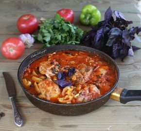 Полезный обед: чахохбили с курицей | Рецепты правильного питания - Эстер Слезингер