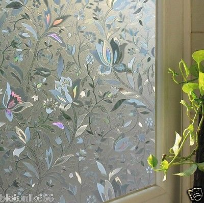 3D-VIEW-FROSTED-STAINED-GLASS-STATIC-CLING-PRIVACY-WINDOW-FILM