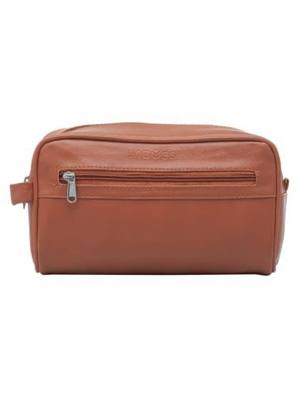 a3e24537bc Tan Toiletry Bag Pouch Organizer Bag