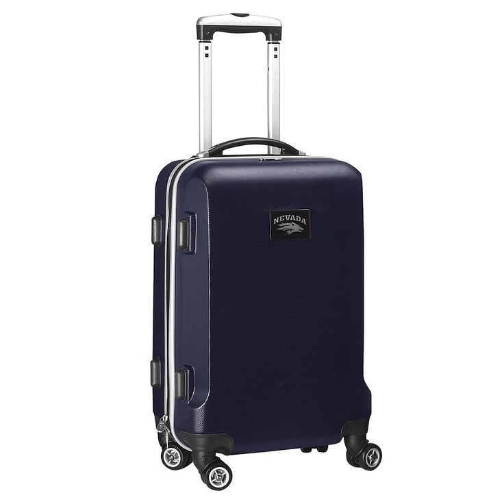 Nevada Wolf Pack 19 1/2-in. Hardside Spinner Carry-On, Blue (Navy)