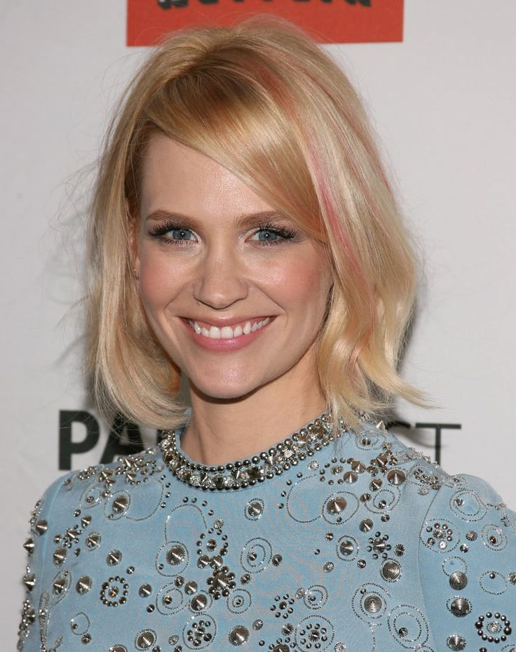 20 Celebrity Bob Hairstyles January Jones Mind Blowing Ideas To Bright Up Your Life
