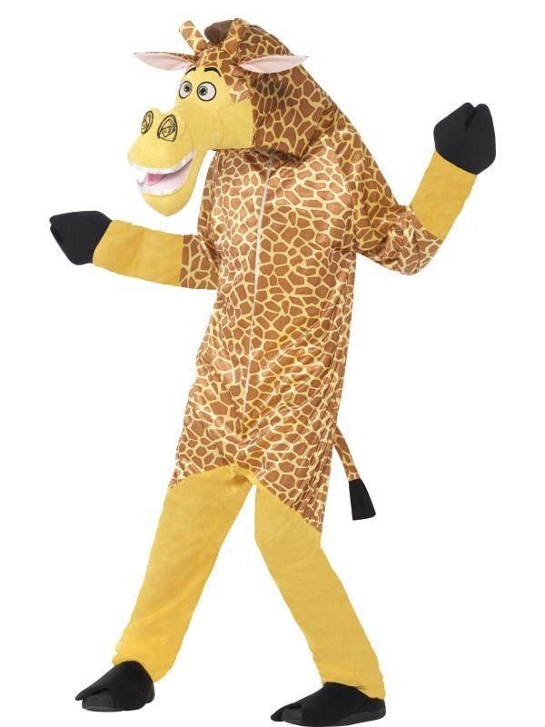 Et dit barn det sjove i klassen, som er klar med alle jokes og kan få alle til at smile. Så er giraffen Melman ideel til kostume.