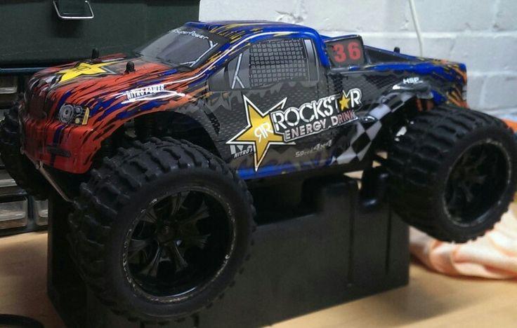 Maverick strada Mt evo s project,  black wheels and new body shell.