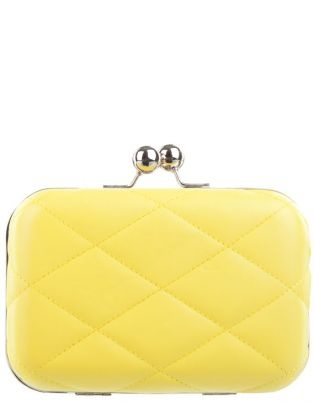 $29.95 Quilted Hard Case Clutch - Lushous Clothing @ www.theiconic.com.au