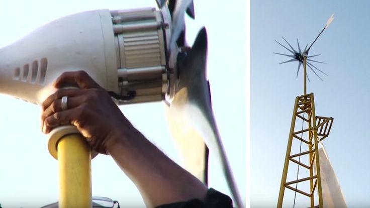 Pour 675€, cette mini éolienne alimente toute la maison !