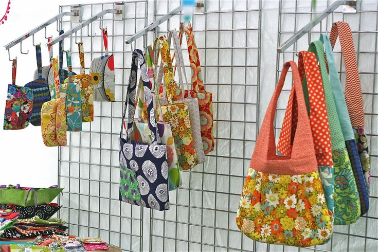 More Hanging Bag Display from Gingercake