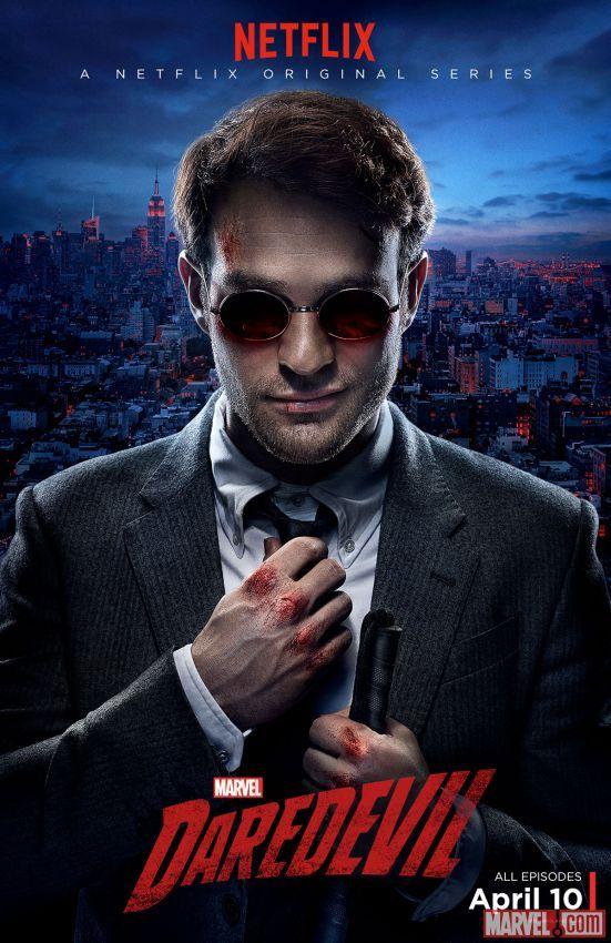 Matt Murdock Gets Bloody in New Marvel's Daredevil Poster | News | Marvel.com