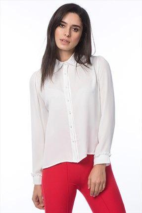 Lafaba Kadın Siyah Fırfır Yakalı Gömlek || Kadın Siyah Fırfır Yakalı Gömlek Lafaba Kadın                        http://www.1001stil.com/urun/4269133/lafaba-kadin-siyah-firfir-yakali-gomlek.html?utm_campaign=Trendyol&utm_source=pinterest