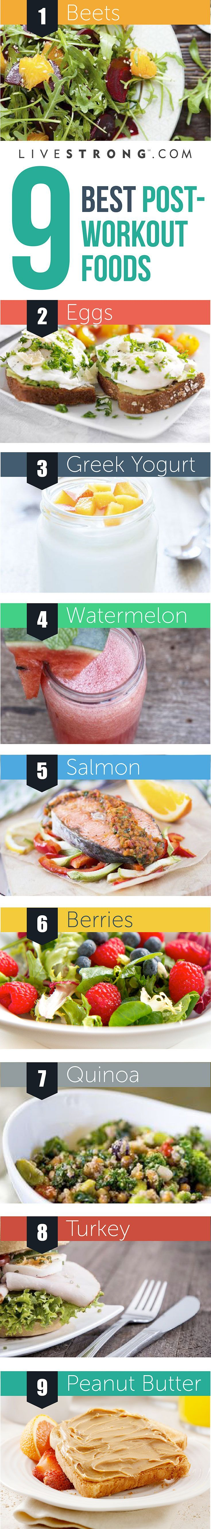 Refuel with these 9 post workout foods
