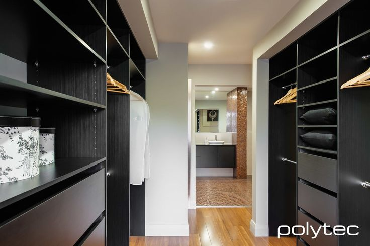 Wardrobe  in Black Wenge Ravine
