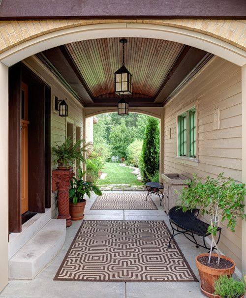 Covered Walkway Designs For Homes: Breezeways Images On Pinterest