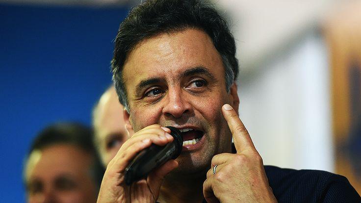 """Aécio diz que Dilma """"está assustada"""" e não se preparou para enfrentá-lo no segundo turno - Brasil - Notícia - VEJA.com"""