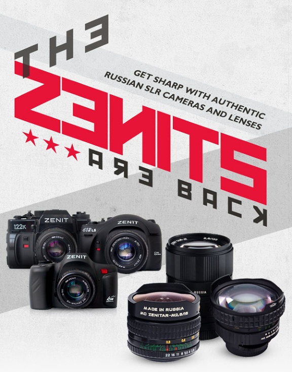 From Russia With Love: The Zenit Cameras Available for Pre-Order    Exclusive to Singapore
