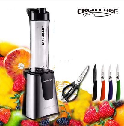 122.00$  Buy now - http://alibk4.worldwells.pw/go.php?t=32769871022 - Mini fruit juice machine Single/Double cup small juicer portable juicer