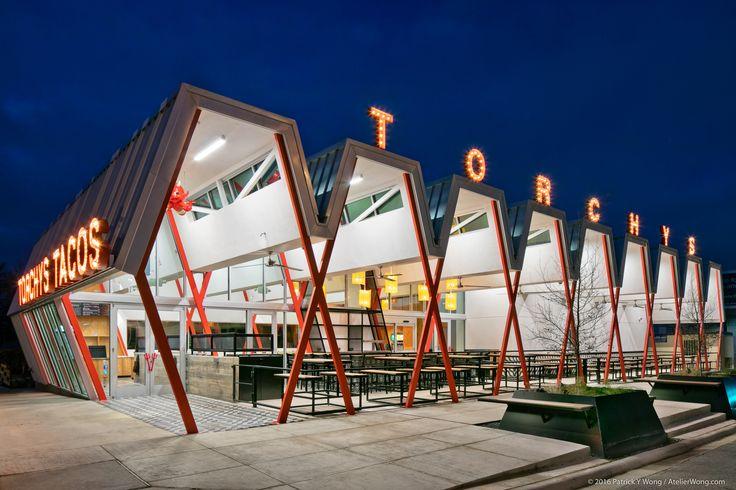 2016 Restaurant & Bar Design Awards Announced,Torchy's Tacos (Austin, USA) / Chioco Design. Image Courtesy of The Restaurant & Bar Design Awards