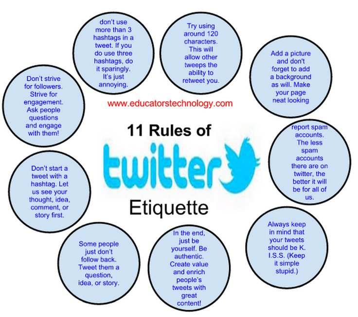 Educational Technology and Mobile Learning: 10 Ways Teachers Can Make The Best of Twitter