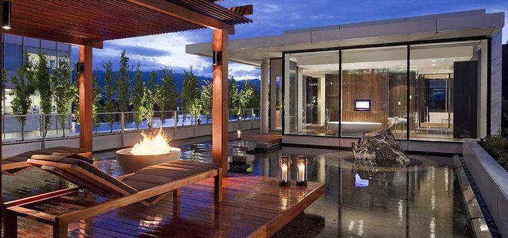 Fairmont Pacific Rim, Vancouver, BC: Owner's Suite Deck