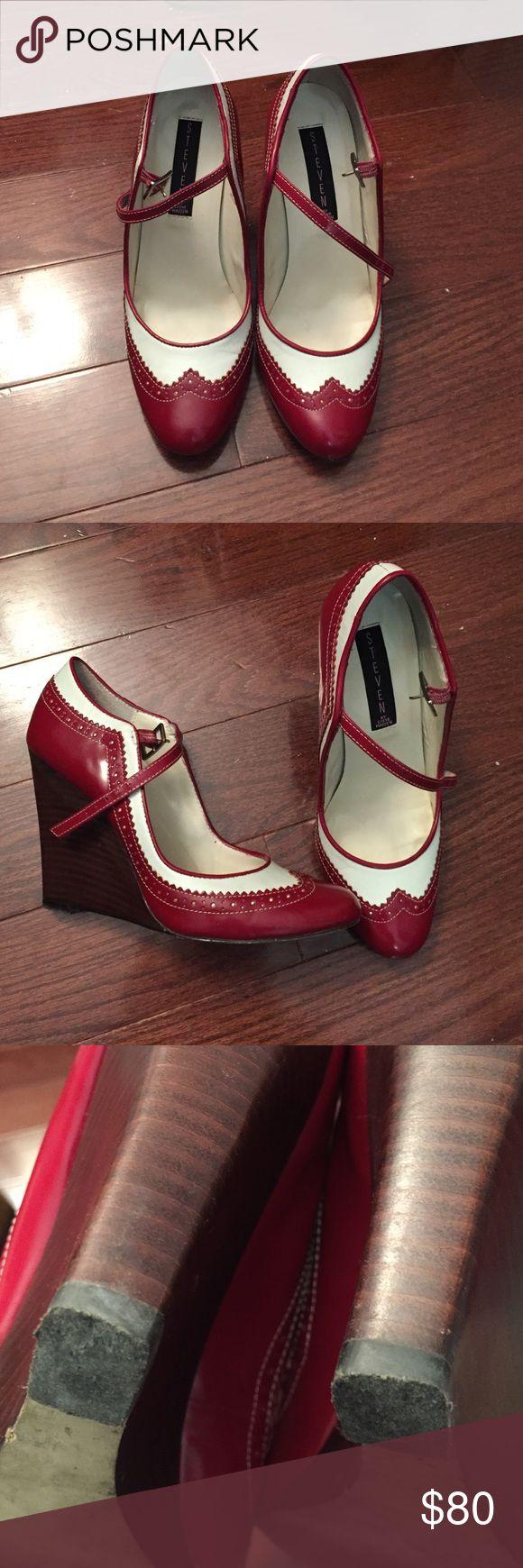 Steve Madden Platform Oxfords Wedge platform Steve Madden Shoes Wedges