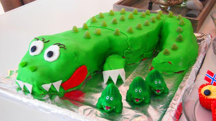 Krokodillekake Henrik 2 år