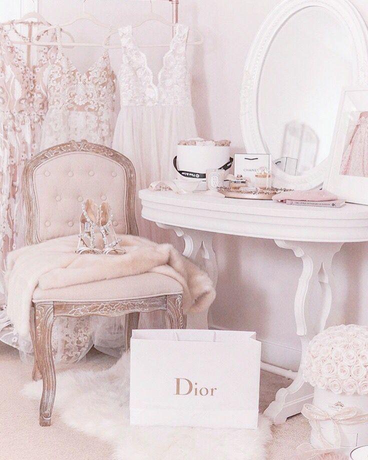 Blush Dior Vintagepinkbedroom Pink Bedroom Decor Girl Bedroom Decor Fairytale Bedroom