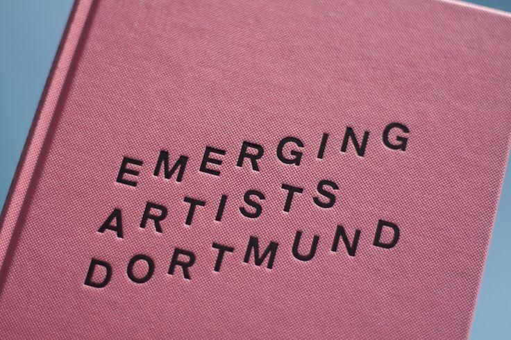 Emerging Artists Dortmund #design #graphicdesign #Editorial #editorialdesign #book