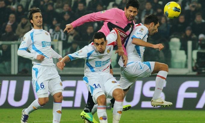 Juventus - Catania 3-1 #24agiornata