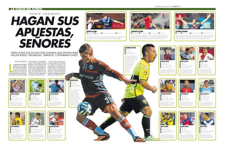 FUTBOL ARGENTINO 2014 JUVENILES DE PRIMERA