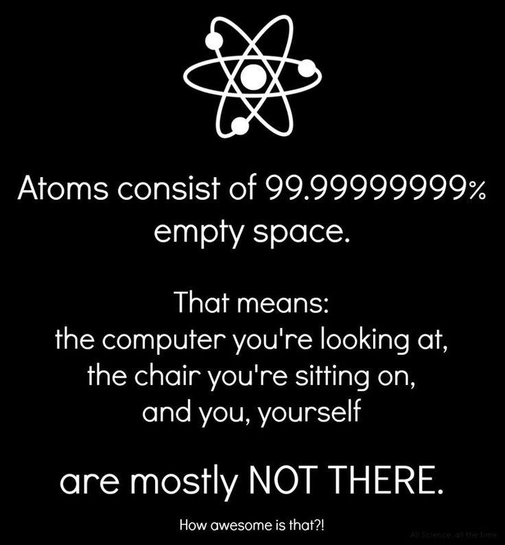 the space between...