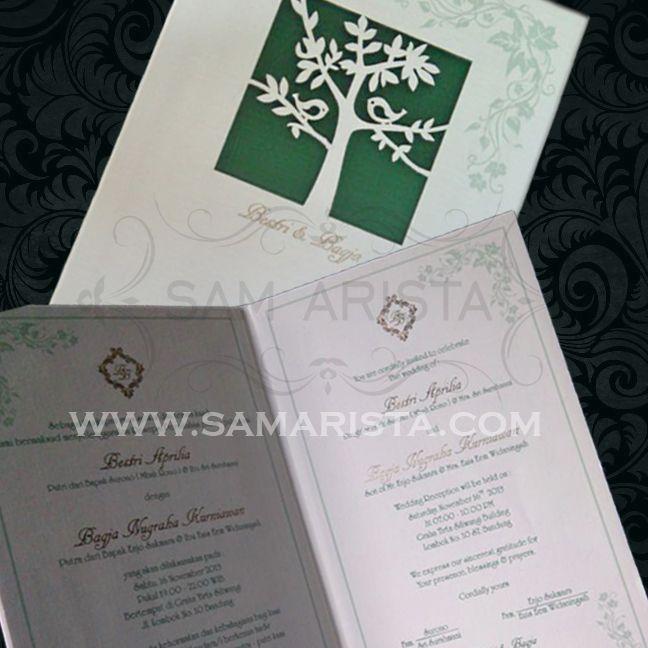 Happy Wedding for couple ❥ Bestri Aprilia & Bagja Nugraha Kurniawan ;   Wishing Love, Luck, and Happiness is always beside two of you forever ^_^ - 16 November 2013 -  #kartu #undangan #pernikahan #pengantin #perkawinan #acara #resepsi #ngunduh #cetak #samarista #wedding #invitation #card #bridal #best #seller #couple #love #art #desain #bandung