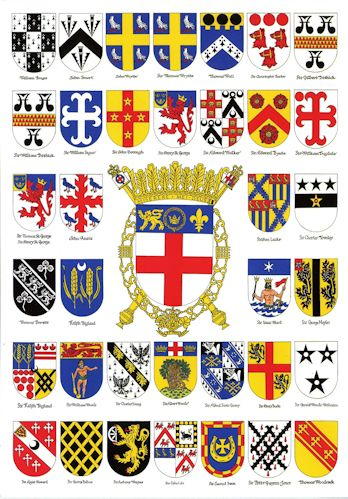City of Bath Heraldic Society publications - heraldry cards