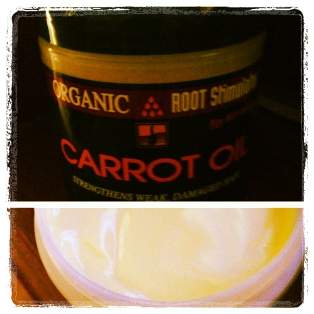 I use organic root stimulator #carrotoil. It strengthens your hair( reduces shedding/ breakage), adds shine, &  moisturizes hair. If you can't find it, look for hair products that have the following herbal / protein blend: beta carotene, vitamin F ( moisturizer),nettle ( naturally smooths hair down) & amino acids to mend/ rebuild the hair shaft. In fact, carrot oil is good for #naturalhair, #relaxedhair, #pressedhair, and color treated hair.  www.fromgirltogirl.com