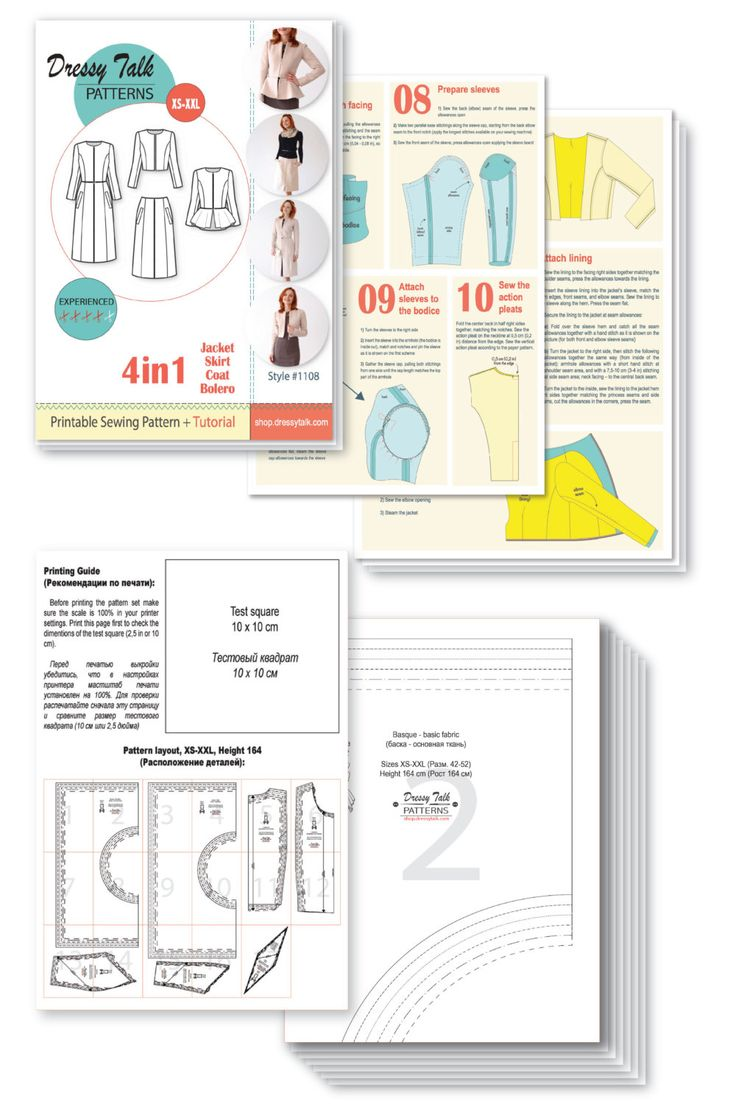 Sewing Patterns  Coat Patterns  Jacket Patterns  Bolero by DressyTalkPatterns | Etsy