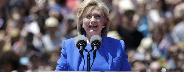 Debo9Ja.: Hillary Clinton's 2016 Campaign Kickoff in NYC, Li...