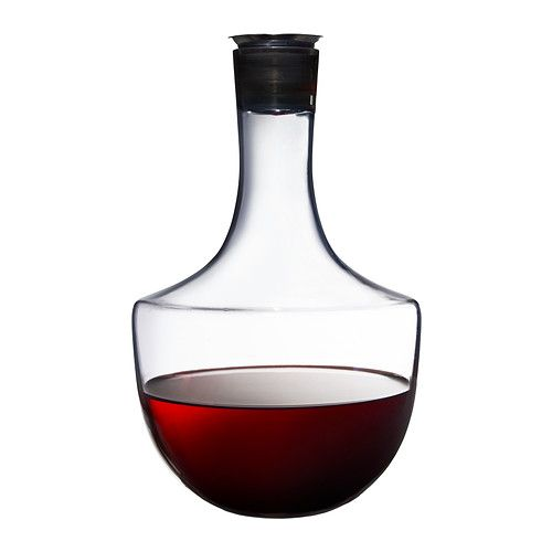 Cool carafe! HÄMTA Carafe IKEA Drip-free spout which makes it easier to pour without spilling. Each glass has been mouthblown by a skilled craftsman @ RM44.90