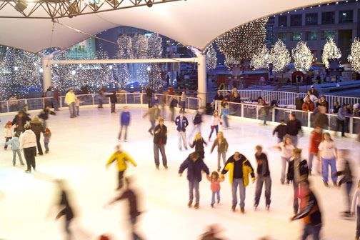 Kansas City's only public outdoor ice skating rink...Crown Center Ice Terrace...Open November thru mid-March. Must do this winter!!!