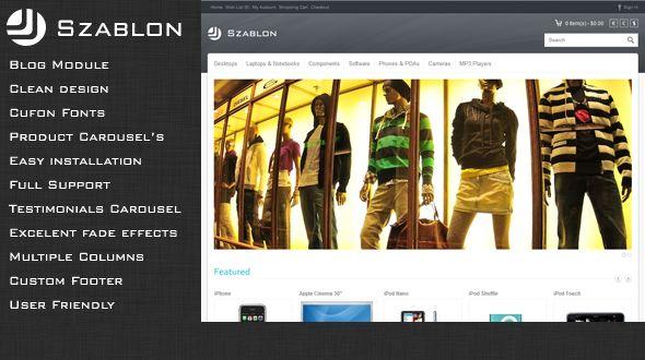 Szablon – Creative #OpenCart Premium Template #ResponsiveDesign #html5 #ccs3