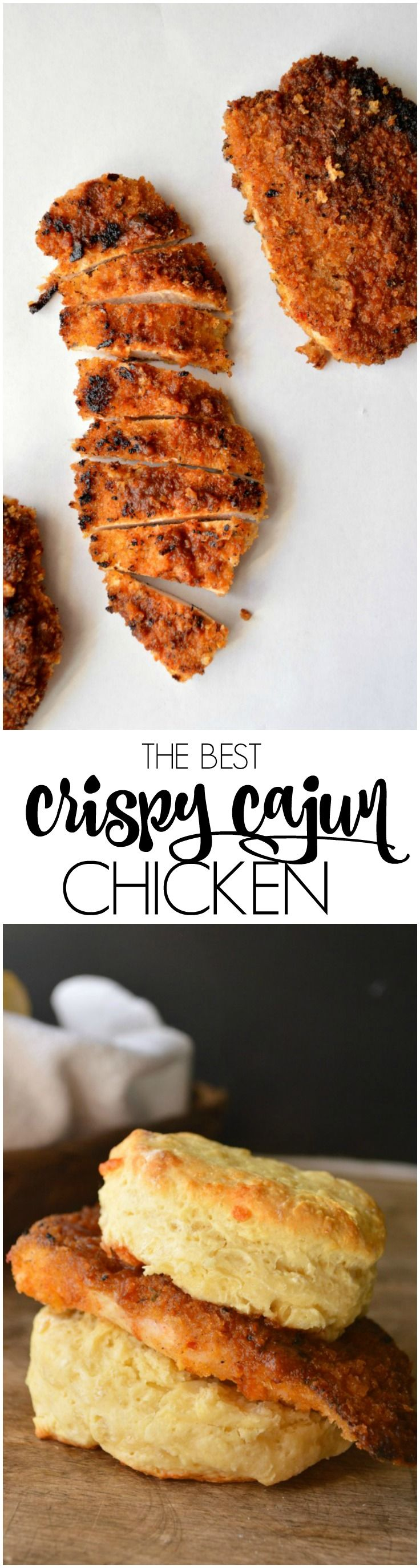 Whether you want to make a CopyCat Cajun Filet Biscuit or just have a really great salad, this easy recipe for The Best Crispy Cajun Chicken will not disappoint!