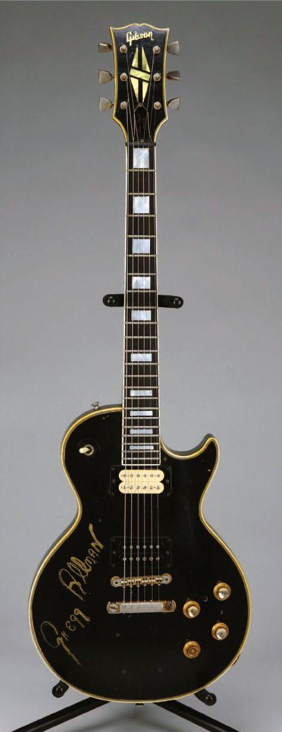 Duane Allman/Gregg Allman | '68 Gibson Les Paul Custom.