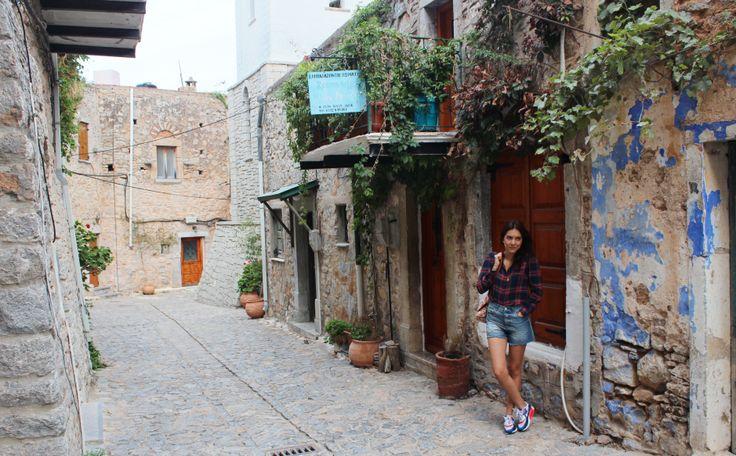 Chios Mesta Village Greece