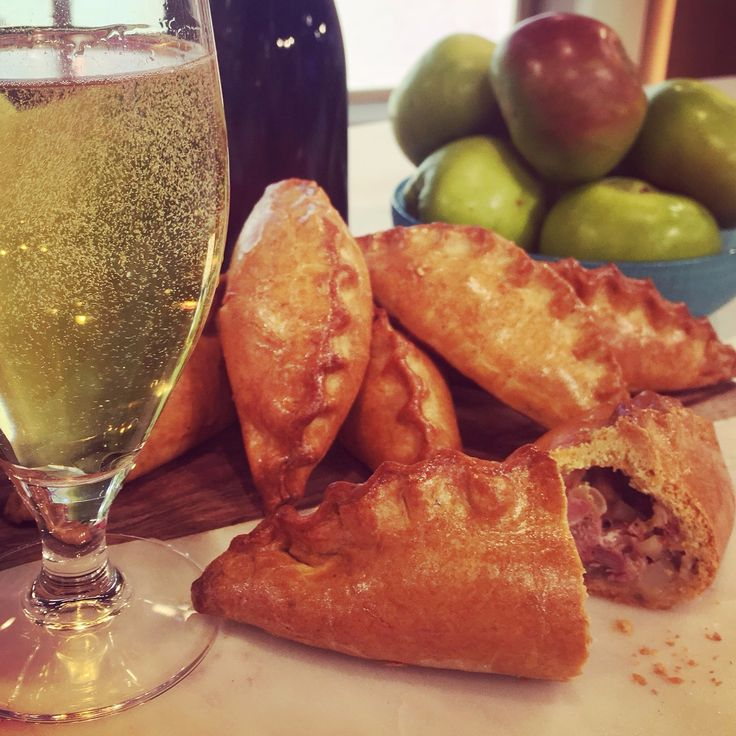 Candice's easy to make pork and apple pasties