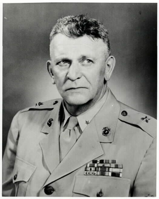 Brigadier General Harry Bluett Liversedge PHOTO. Harry is a Bluett cousin.
