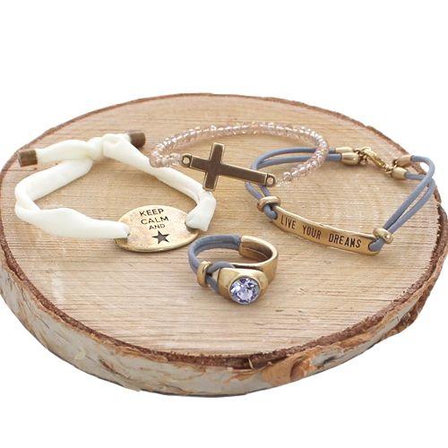 Luxe sieraden gemaakt met DQ metalen onderelen